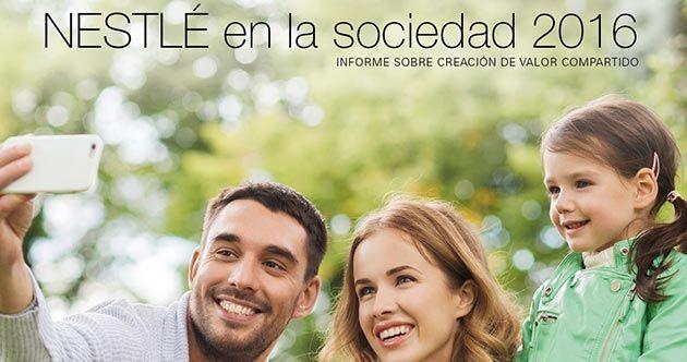 En su línea de compromiso con la sociedad y el planeta, Nestlé España ha presentado su memoria social 'Nestlé en la sociedad 2016