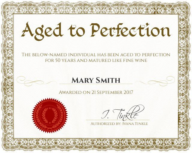 25+ Best Ideas About Funny Certificates On Pinterest