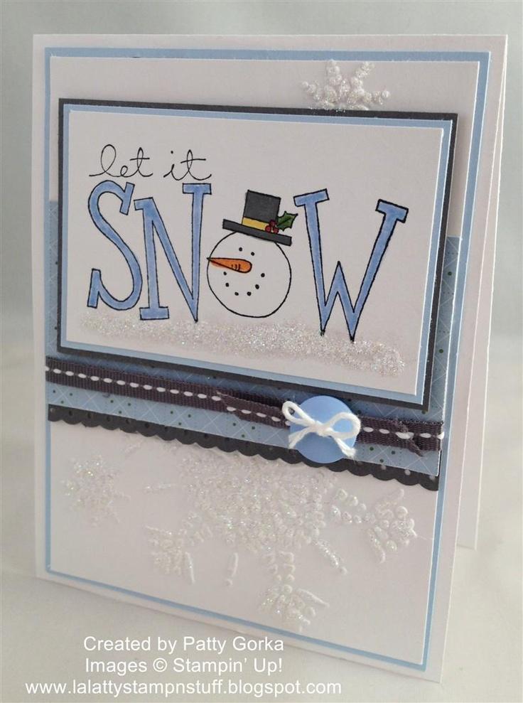 LaLatty Stamp 'N Stuff: 52 Christmas Card Throwdown ~ Theme Carol or Hymn