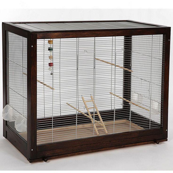 Animalerie  Cage pour perruche Skyline Diana  L 99 x l 52 x H 78 cm (sans support)