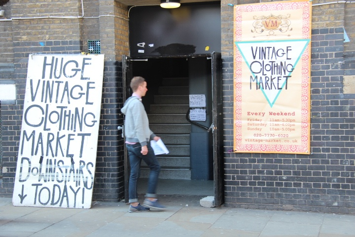 The Vintage Market used to be open only weekends. Not anymore. Bricklane and Shoreditch in general embrace fashion and cultural trends.