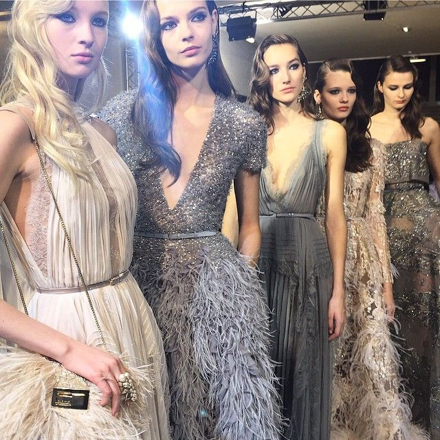 Fashion Inspiration -- Runway : Elie Saab Spring 2015 Couture -- a slideshow compilation of: