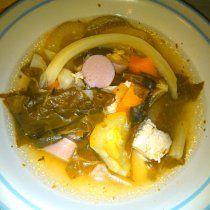 Receta de Sopa de Verduras con Pollo y Salchicha de Pavo