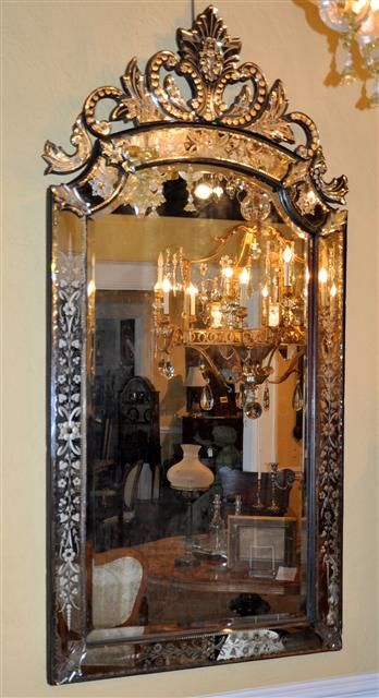 Bronce espejo veneciano