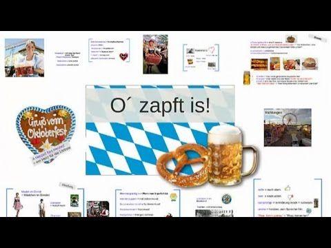 Oktoberfest - Bayerische Ausdrücke