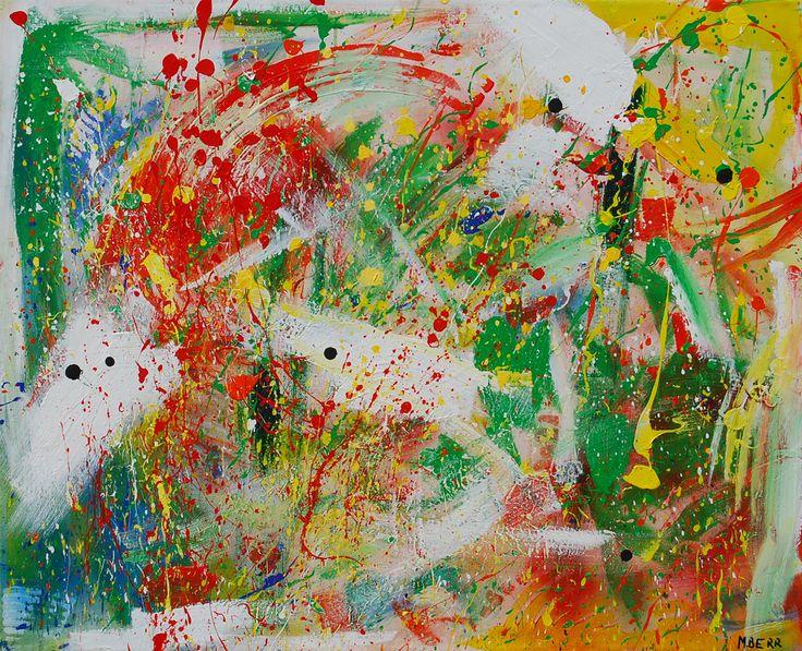 """""""FIESTA""""  100 x 80 cm Técnica mixta   2013 (vendido)"""