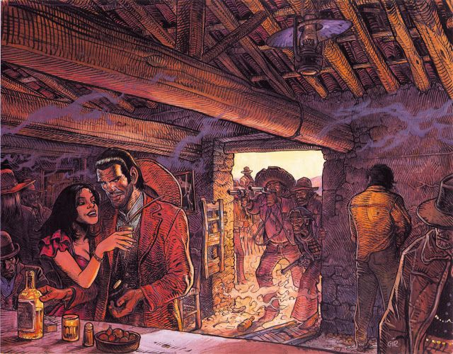 Jean Giraud Before He Was Moebius The Persona Under Which He Drew Most Of His Sf Themed Work Giraud Went By T Jean Giraud Moebius Art Jean Moebius Giraud