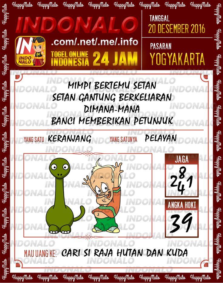 Undian Lotre 4D Togel Wap Online Live Draw 4D Indonalo Yogyakarta 20 Desember 2016