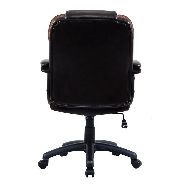 Ergonomic pu leather mid back executive computer desk task office chair furniture chairs - Ergo kids task chair ...