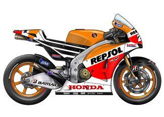 MotoGP 2014 Teams and Riders | RTR Sports - Repsol Honda HRC Team