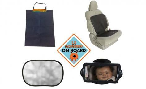 Car Seat Essential Kits by Nuby Travel