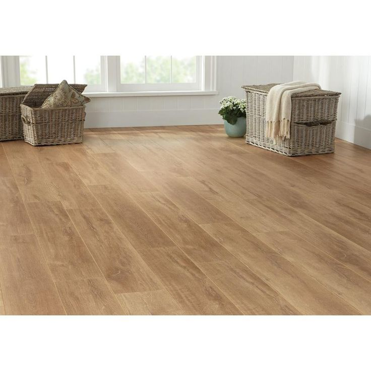 Home Decorators Collection Biscayne Washed Oak 8 mm Thick x 7-2/3 in. Wide x 50-5/8 in. Length Laminate Flooring (21.48 sq. ft. / case)-41396 - The Home Depot