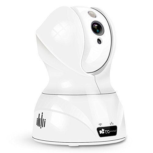 EC Technology IP CAMERA BLACK & WHITE: Price:55.99Image Haute Définition 720p, enregistrement et lecture via carte micro SD locale. Avancée…