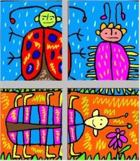 What's Outside the Window?: Drawing Lessons for Kids: KinderArt ®