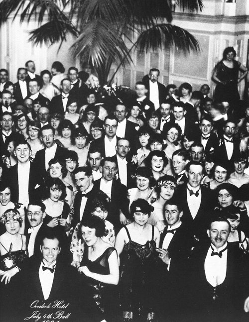 "The ""roaring"" 20's was very big in partying and drinking and just having fun. #yolo"