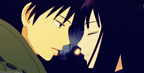 kimi ni todoke anime love gif | WiffleGif