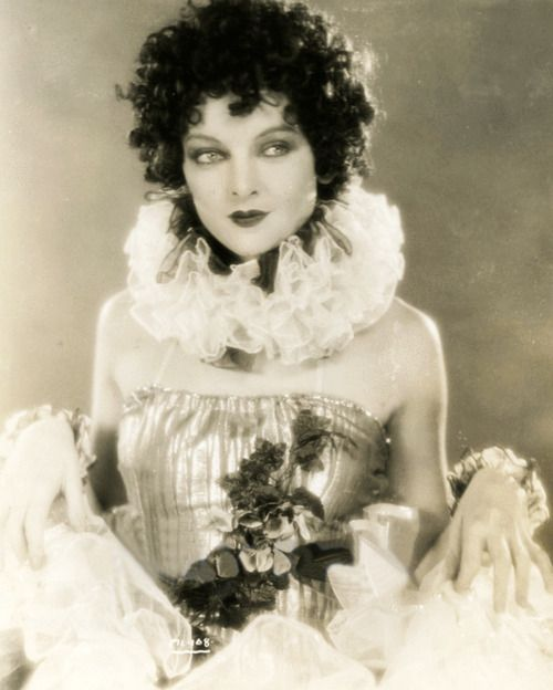"Myrna Loy in The Jazz Singer, 1927 ""Really?  Is this the same Jazz Singer that was the first talky?  With Al Jolson?"