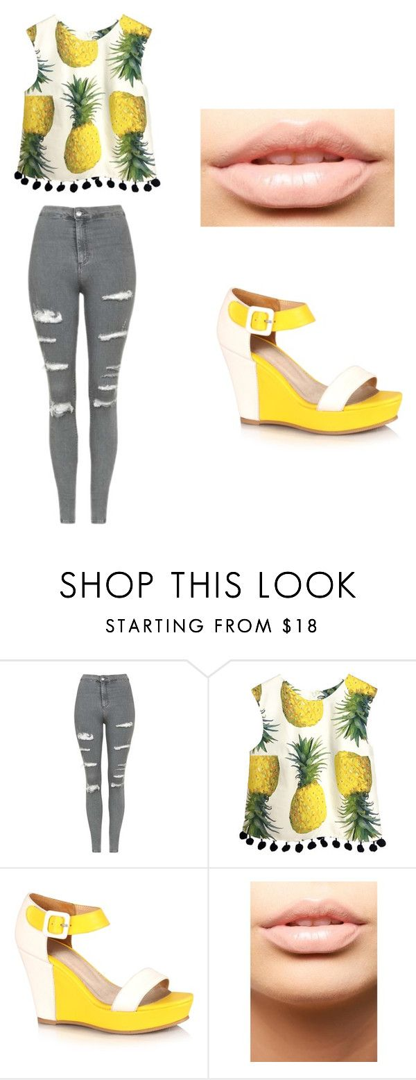 """""""Sem título #119"""" by mariajuliaebeatriz on Polyvore featuring Topshop e MDMflow"""
