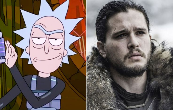 The creators of Rick and Morty confirmed that they weren't responsible for a gag on Sunday night's episode that took aim at Game of Thrones