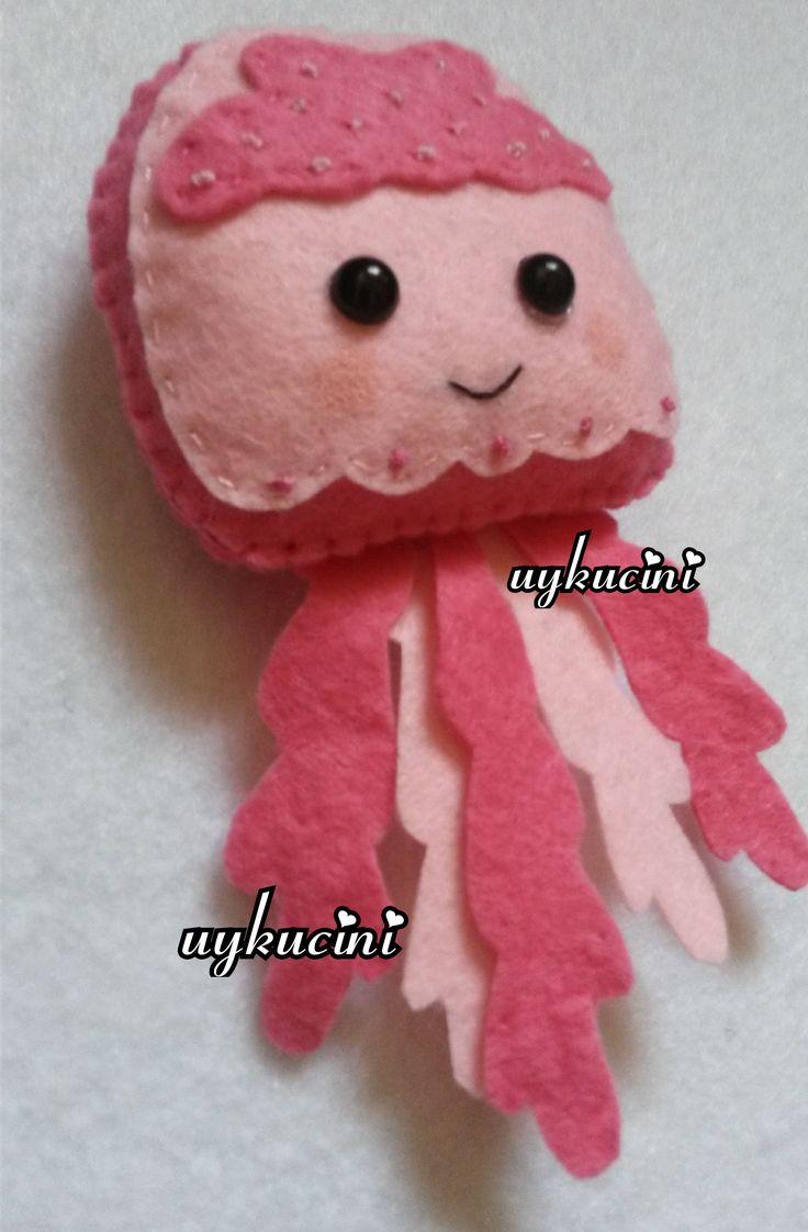 uykucini - deniz anası felt jellyfish