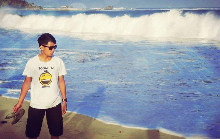 beach white sea