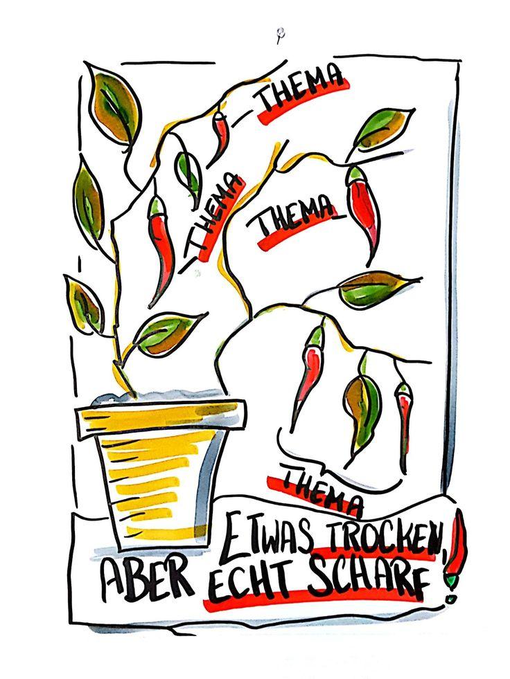 Mini - Flipchartkurs Trockene Chili-Pflanze http://sandra-dirks.de/mini-flipchartkurs-trockene-chili-pflanze/