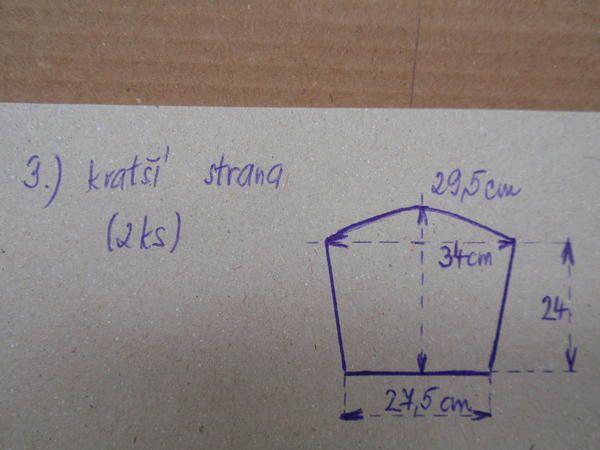 postup výroby formy na koše...(z papíru)   Pletení z papíru