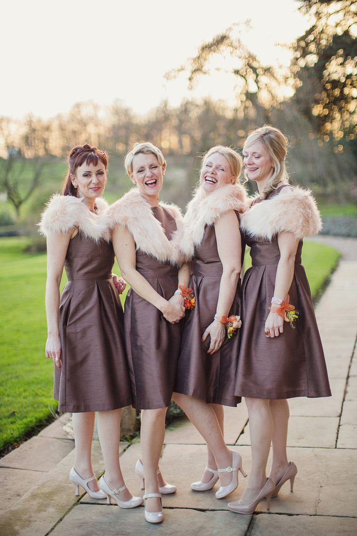 48 best chocolate brown wedding ideas images on pinterest ball a justin alexander gown for a vintage retro and musical inspired winter wedding ombrellifo Gallery
