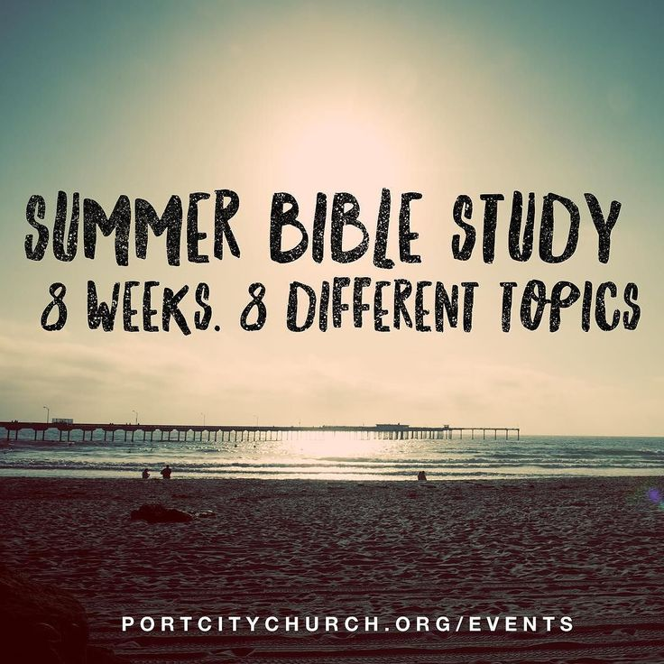 Bible Studies | Small Groups