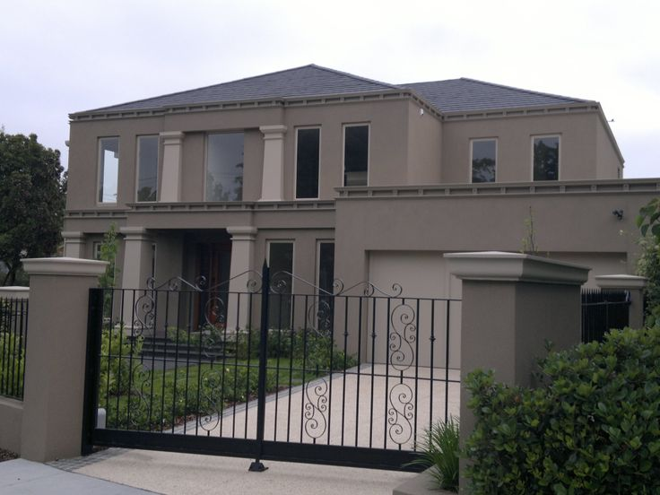 Exterior Mouldings by Finishing Touch Mouldings add a touch of class to this Melbourne Home