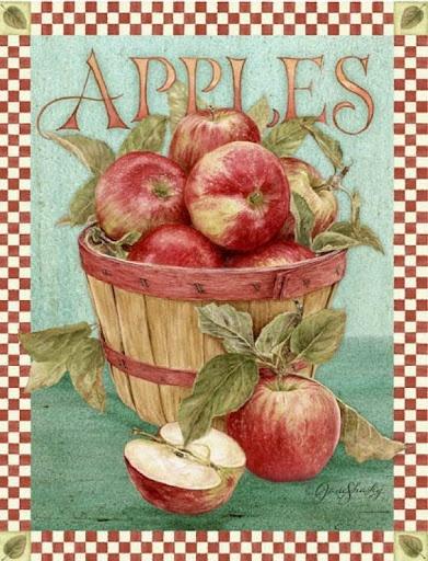 Vintage apples printable                                                                                                                                                                                 Más
