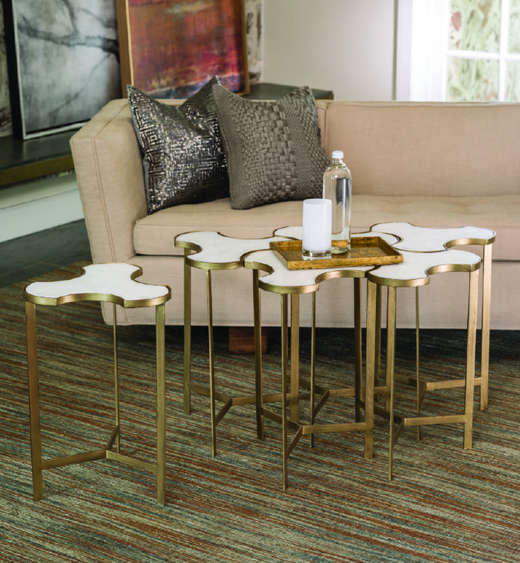 Abbey Jigsaw Bunching Table: Pin By Studio A Home On 2015 Studio A Catalog