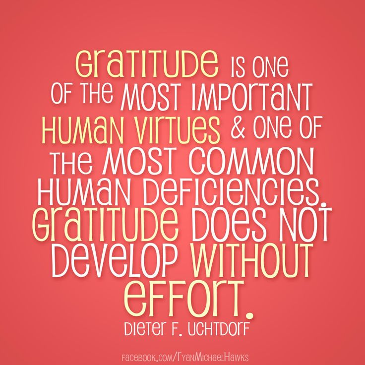 Gratitude | Creative LDS Quotes