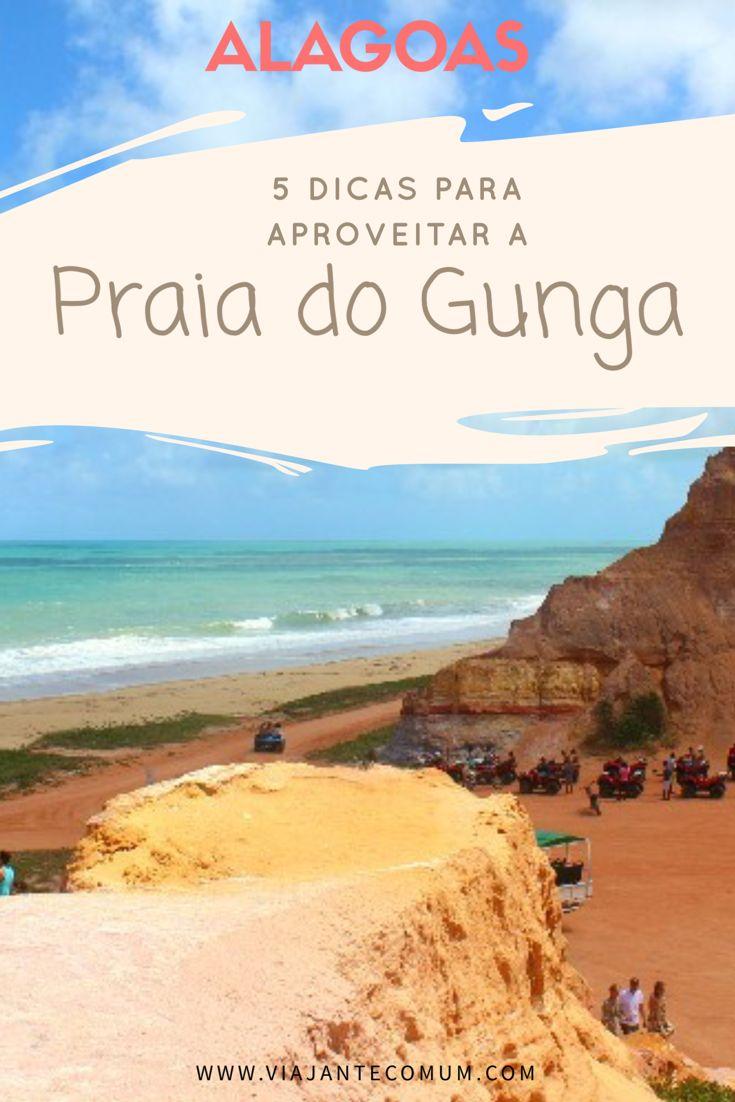 A Praia do Gunga, em Alagoas, é um pequeno paraíso localizado a poucos quilômetros da capital Maceió, mais precisamente no município de Roteiro. Sem dúvida, é uma das mais belas praias do litoral brasileiro! #praiadogunga #alagoas