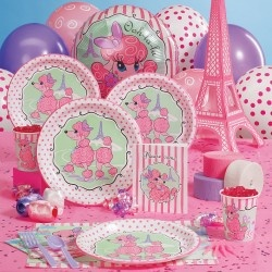 Pink Poodle in Paris Deluxe Pack & 8 Favor Boxes