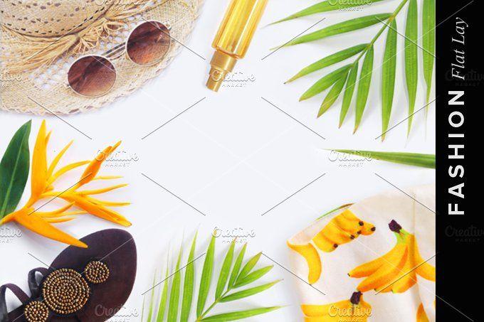Fashion blogger concept. by Trefilova Anna on @creativemarket