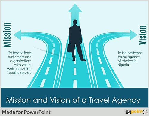 Mission and Vision of a Travel Agency