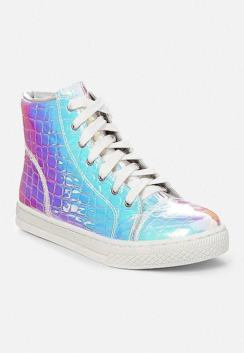 3391bb9496149 Holo Croc High Top Sneaker | Justice | Justice new do in 2019 ...