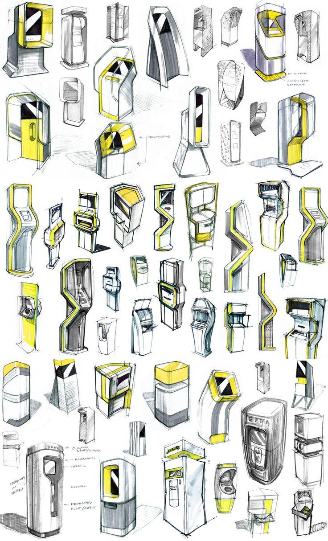 Image result for industrial design sketches kiosk