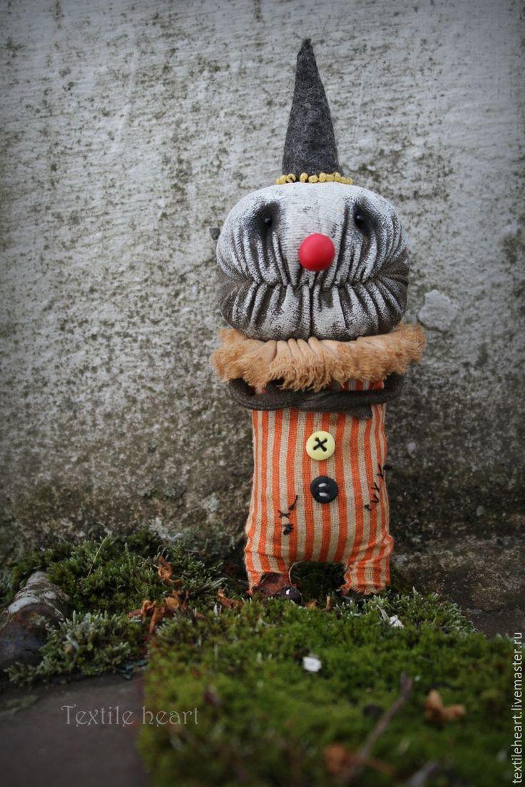 Купить Albert. - комбинированный, клоун, клоуны, клоун кукла, Страшные игрушки, страшные куклы