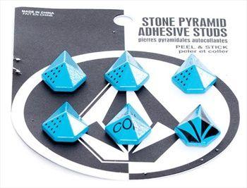 Volcom STONE STUDS Stomp Pad, Cyan