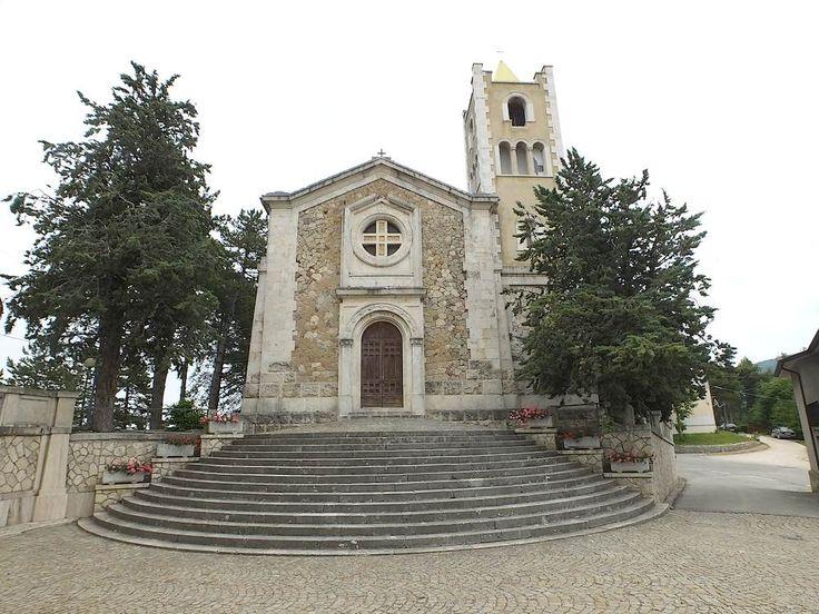 Chiesa di San Silvestro a Castel di Croce frazione di Rotella