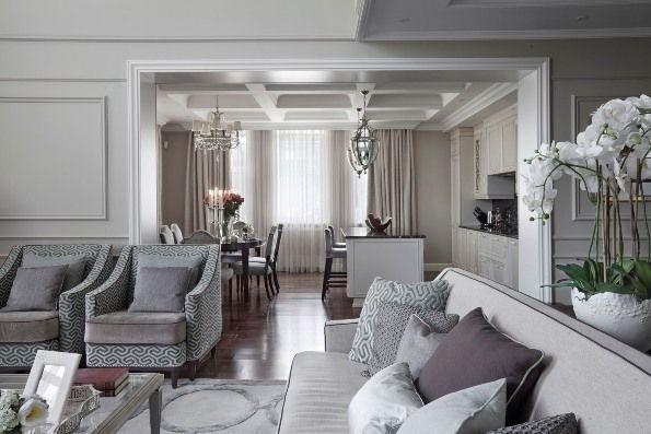 Как создать интерьер на века: американская классика для большого дома :: РБК…