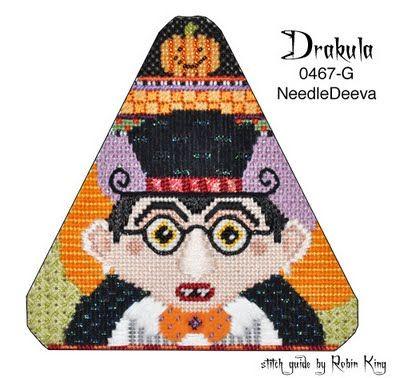 Halloween - Robin King Needlepoint Study Hall: Drakula (ND 0467-G)