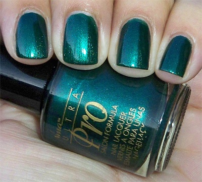 Nina Ultra Pro- This is by far the best brand of nail polish I have ever used, and I have tried a LOT of brands. Get it at Sally Beauty Supply. Apply it with a base coat and a top coat and it lasts FOREVER.