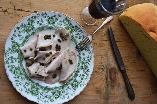 Arista sotto sale al pepe verde (Carré de porc au poivre vert - Pork loin with green pepper)