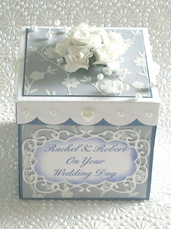 Wedding explosion box.                                                                                                                                                     More