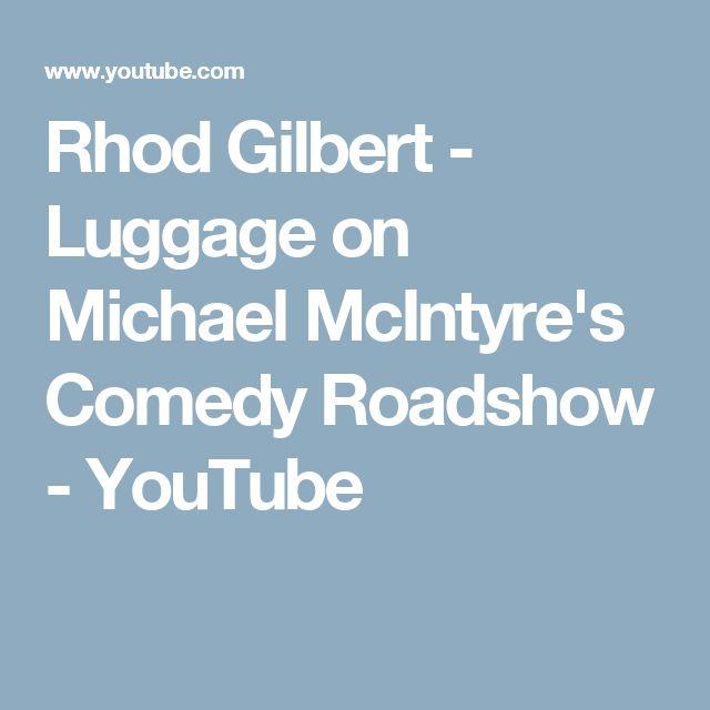 Rhod Gilbert - Luggage on Michael McIntyre's Comedy Roadshow - YouTube