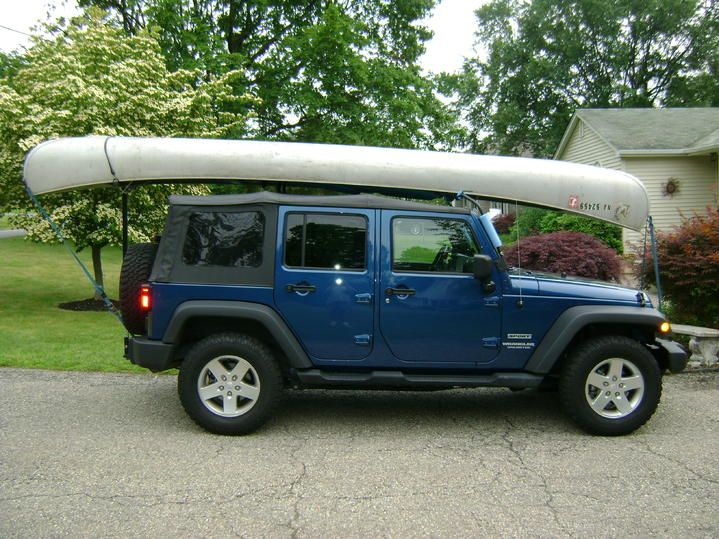 Best Canoe Rack For Jeep Wrangler Soft Top