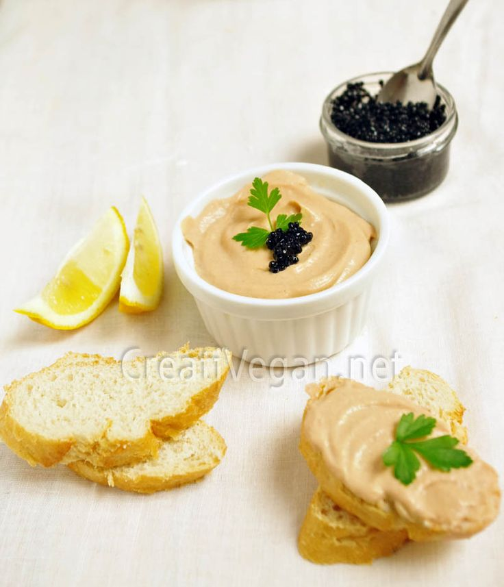 "Paté de ""salmón"" vegano.  #receta #vegana"